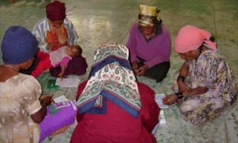 Participants à une formation PRH en Papouasie-Nouvelle Guinée