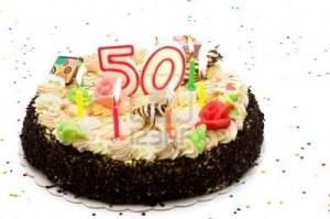 gâteau 50 ans