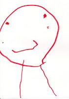 dessin d'enfant de sa maman