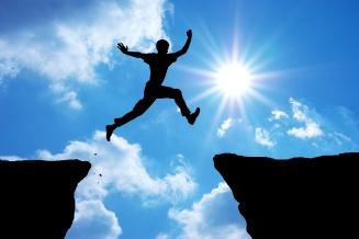 un saut dans la confiance